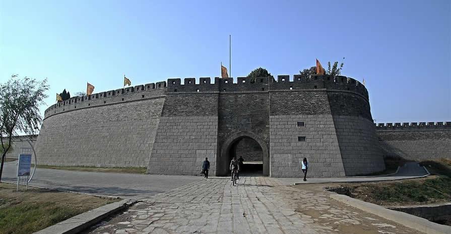 古城墙建设