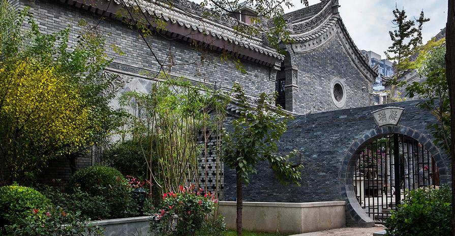 西安仿古庭院