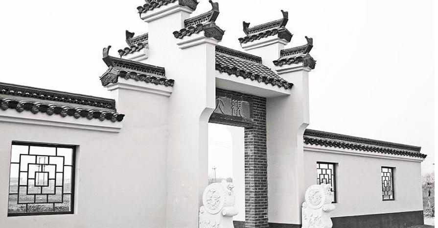 西安徽派门楼