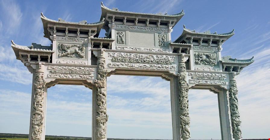 西安石牌坊建设