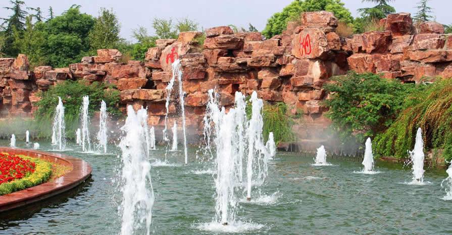 西安假山喷泉