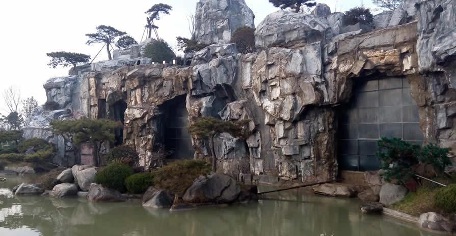 西安假山制作