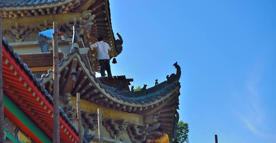 西安古建修复