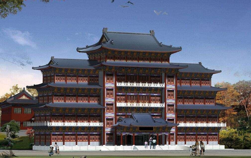西安仿古建筑