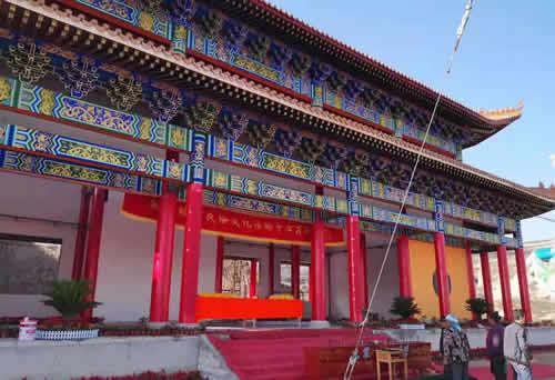 甘肃省兰州市榆中县仿古大殿建设工程