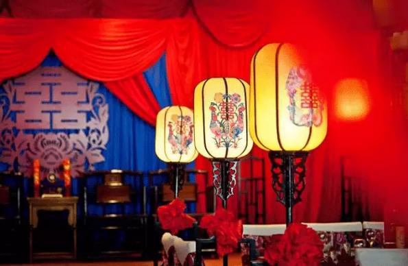咸陽中式婚禮現場布置