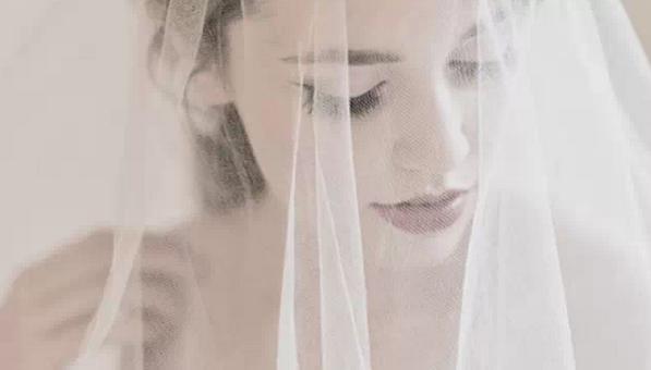 咸陽西式婚禮結婚頭紗
