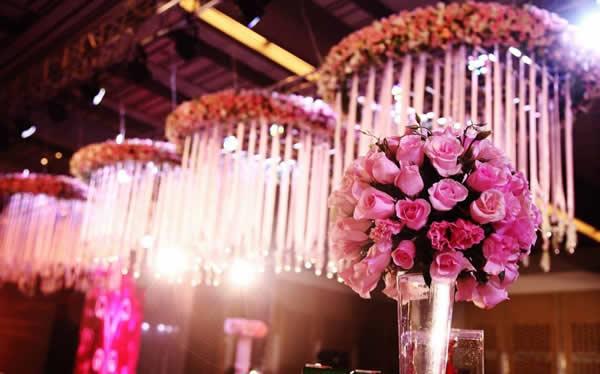 婚礼鲜花布置