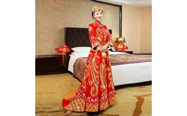 新娘中式禮服