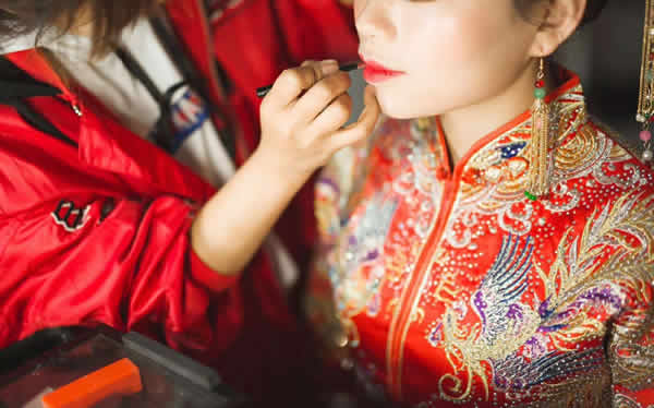 中式婚禮跟妝