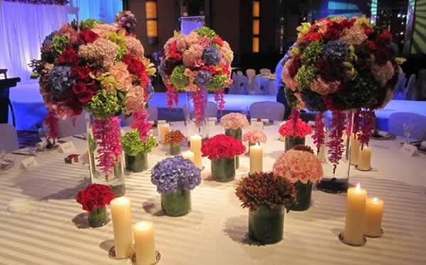 婚場布置-婚禮鮮花