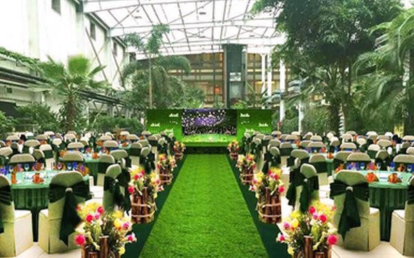 婚場布置-生態酒店