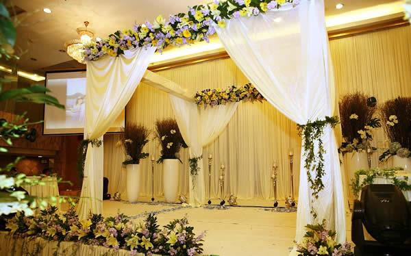 婚場布置-金色奢華