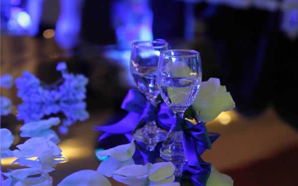 婚場布置-藍色永恒