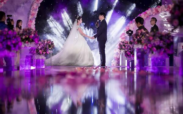 婚場布置-紫色神秘