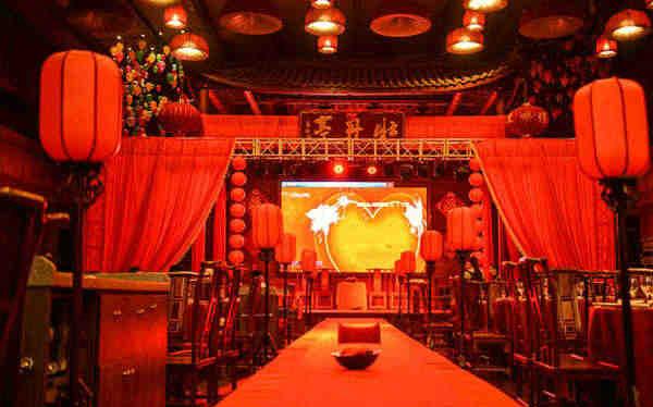 婚場布置-中式婚禮