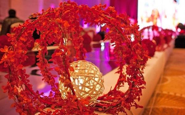 婚场布置-红色激情