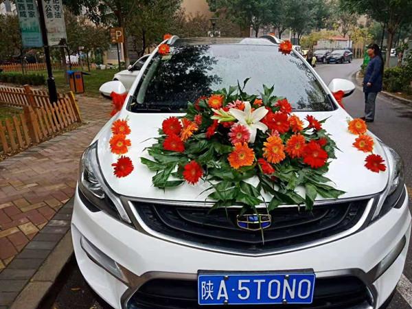 咸陽幸福約定婚慶公司婚車