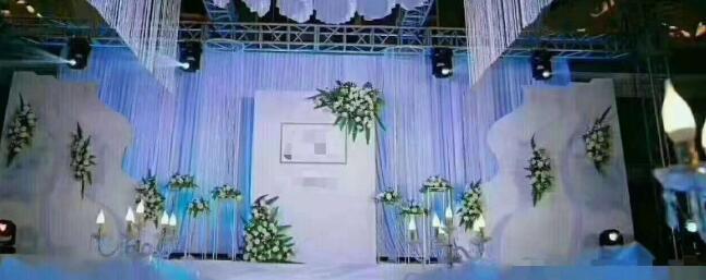 天都酒店白色圣潔婚禮