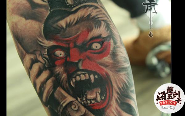 西安男性纹身