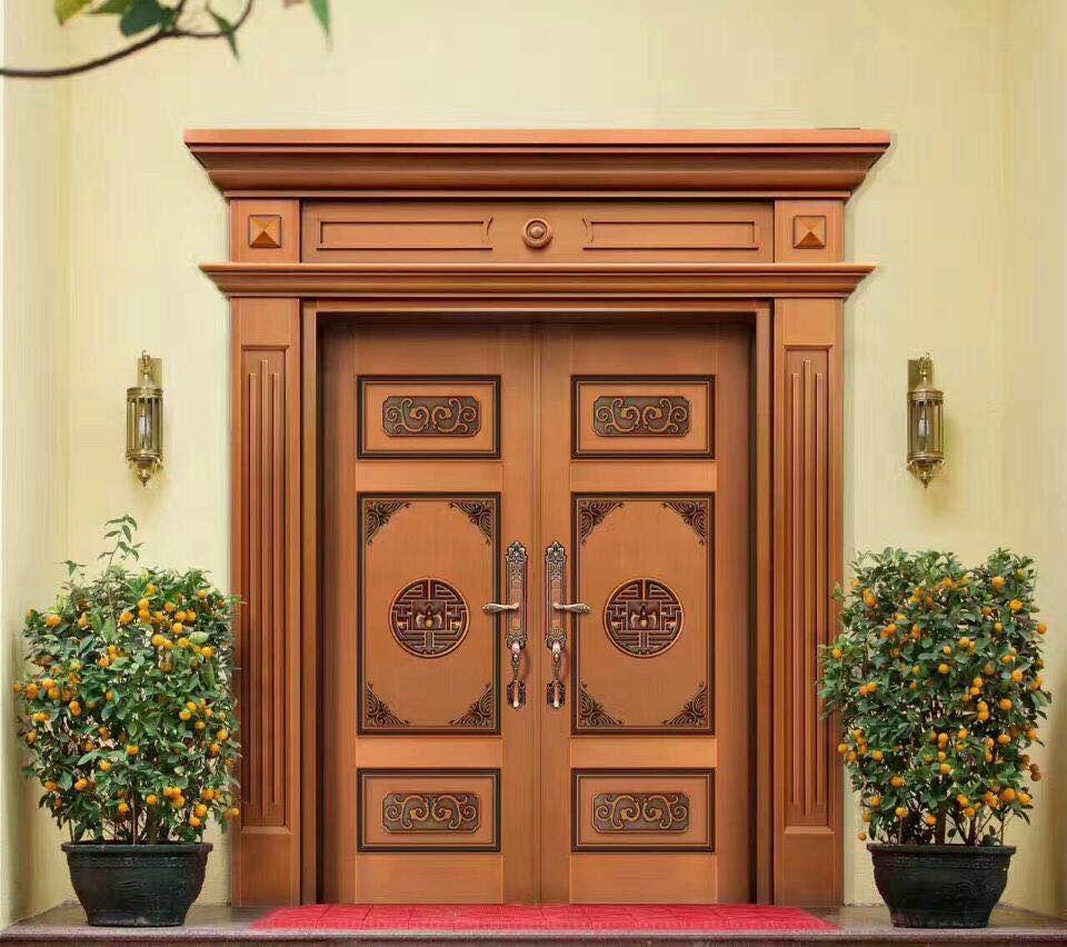 豪华入户铜门