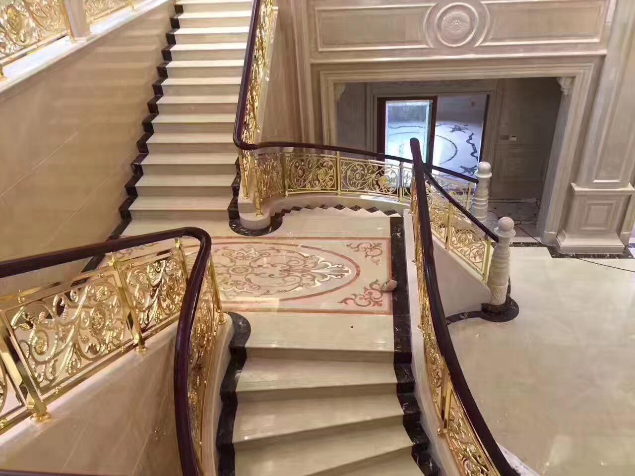 佛山铜制楼梯设计