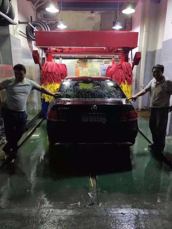安徽泗县洗车房专用全自动五刷电脑洗车机