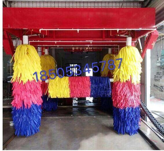 大多数加油站安装洗车机提供的免费洗车服务