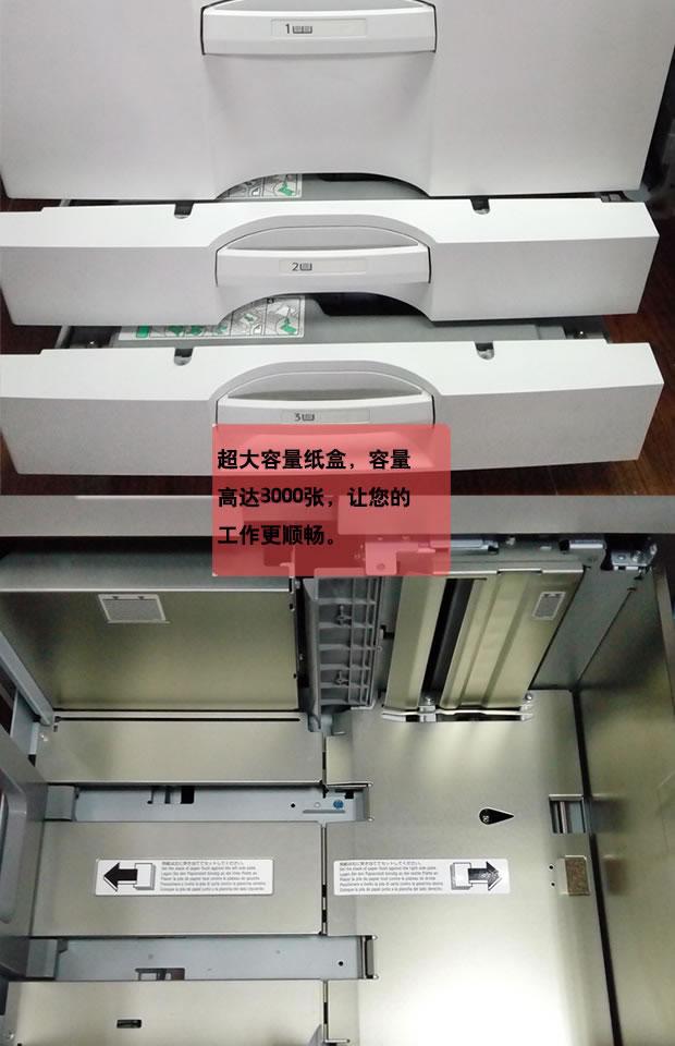 西安理光复印机a3高速激光打印复印彩色扫描一体机租赁
