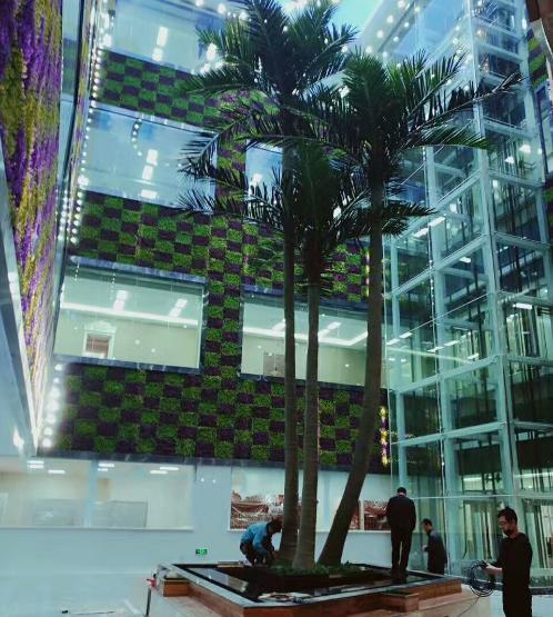 沈陽仿真樹定做公司合作富海360做百度推廣方案