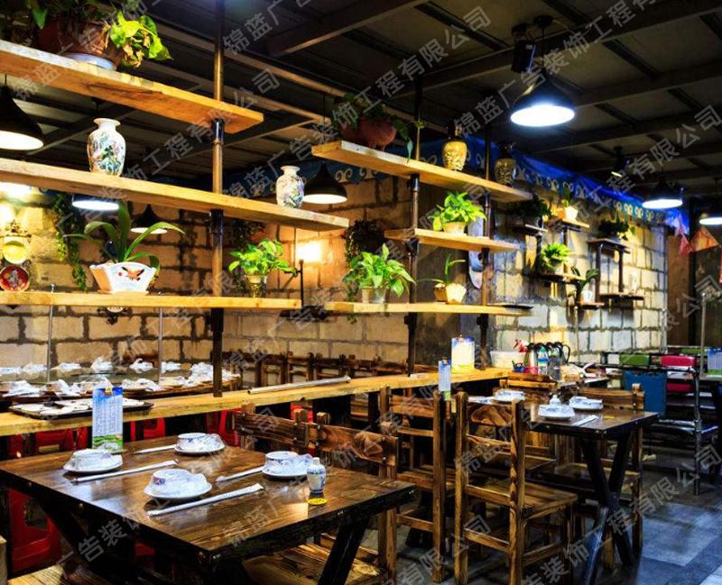 锦蓝餐厅设计与装修