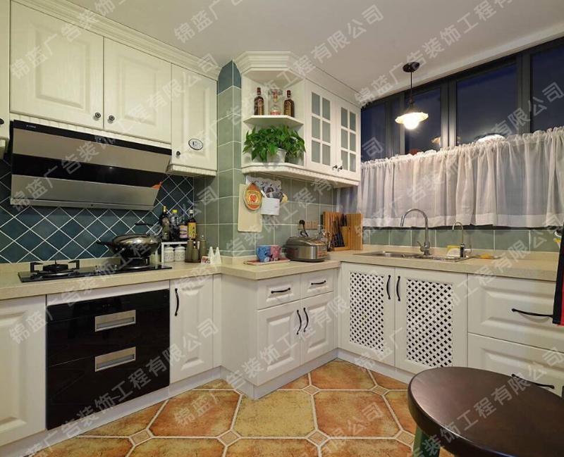 锦蓝装饰厨房设计与装修