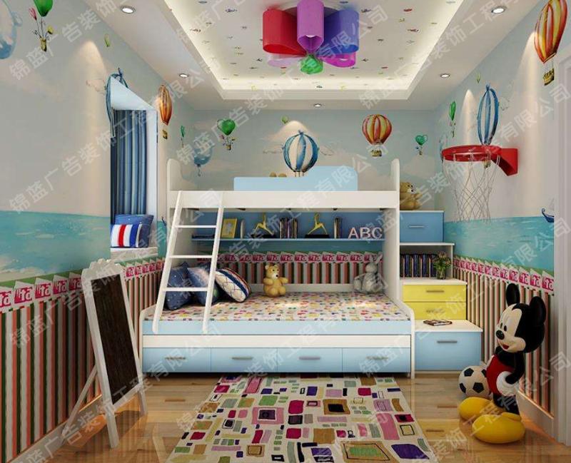 锦蓝装饰儿童房设计与装修