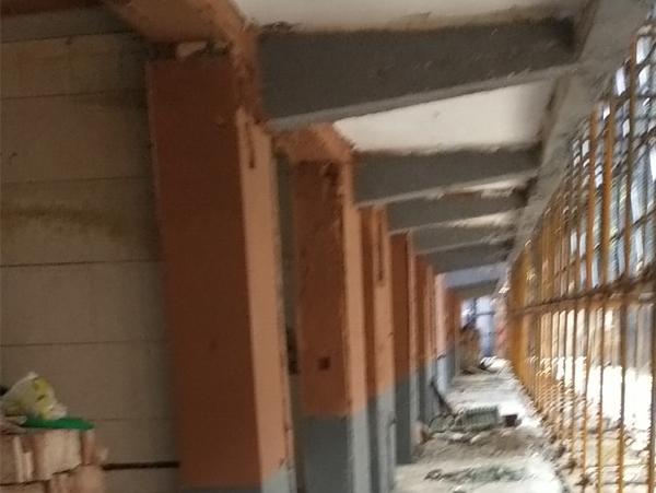 陕西西安旧房加固施工!