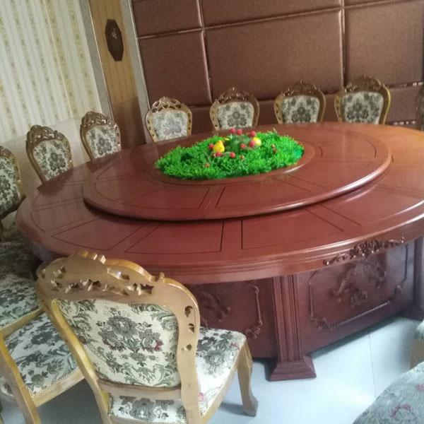 南阳实木圆桌