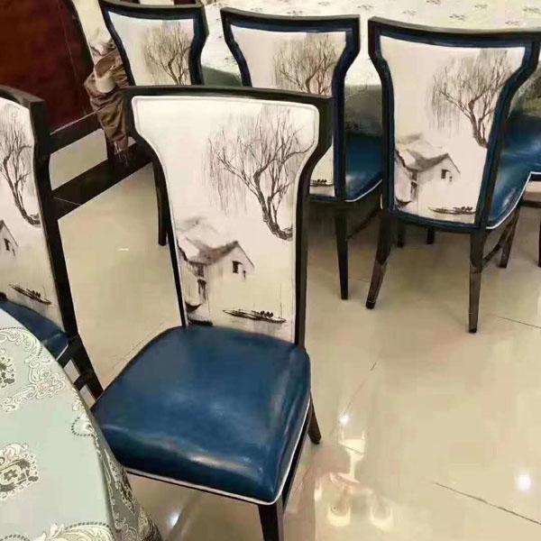 南阳饭店用靠背椅
