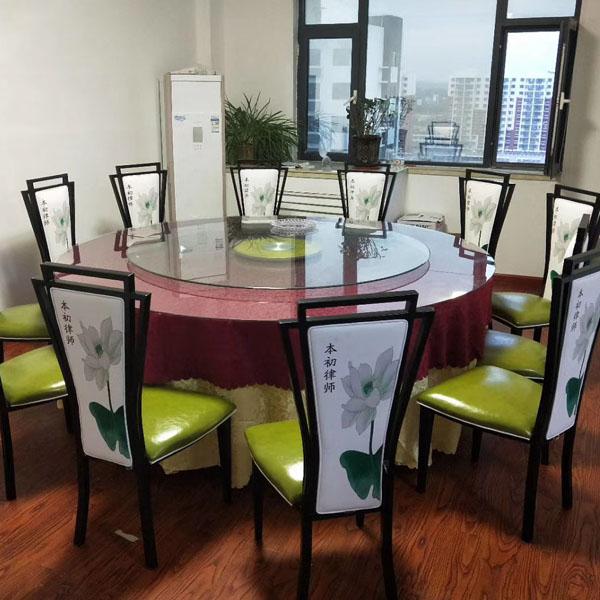 南阳饭店用旋转餐桌
