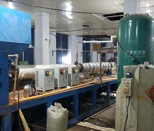 河北電磁加熱器實例