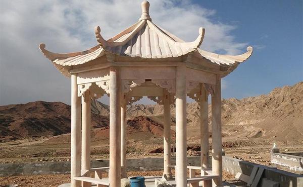 安阳中式石雕凉亭定制