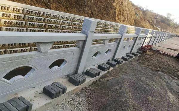 漯河汉白玉石雕栏杆