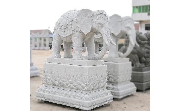 南阳石雕大象价格