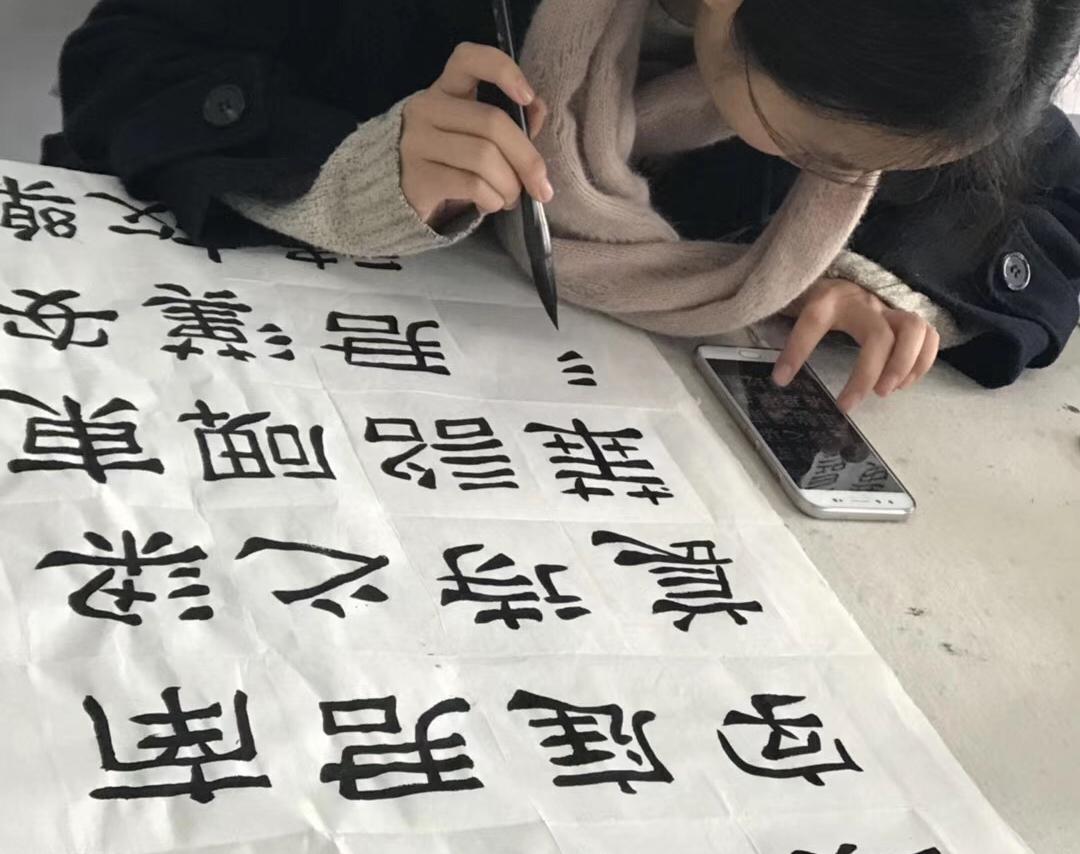 南阳书法培训学校:书法的五种字体分类