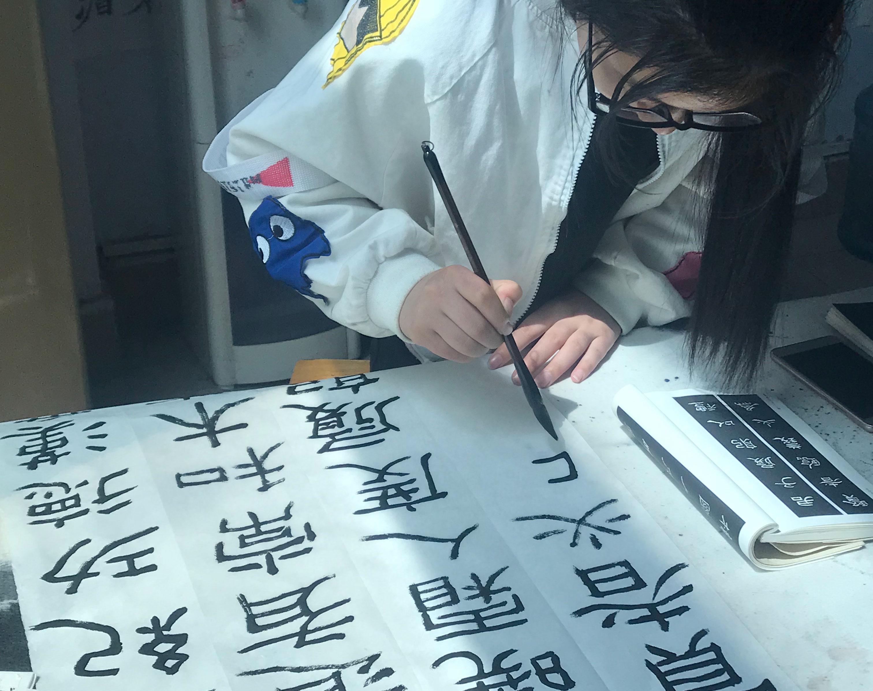 南陽書法培訓學校:學習書法正確方法