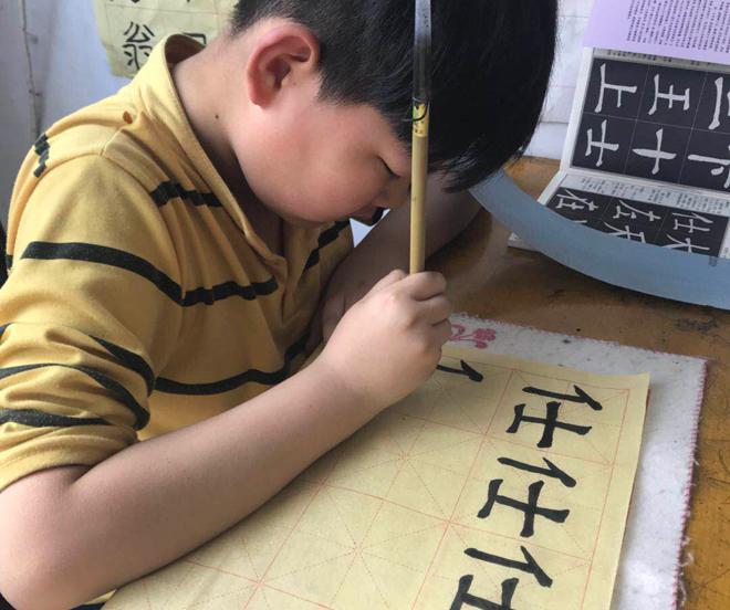 少兒書法培訓-4