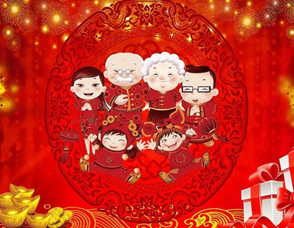 河南学峰书法教育传播·南阳书法学校全国人民和广大学子春节快乐,万事如意!