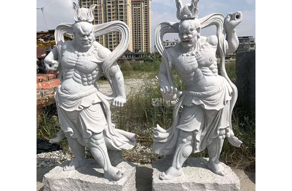 宋代人物石雕