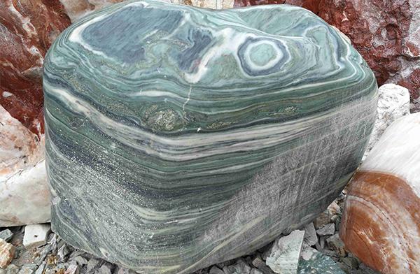 刻字园林景观石