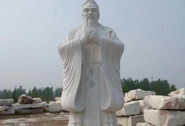 石雕人物孔子有什么寓意呢?