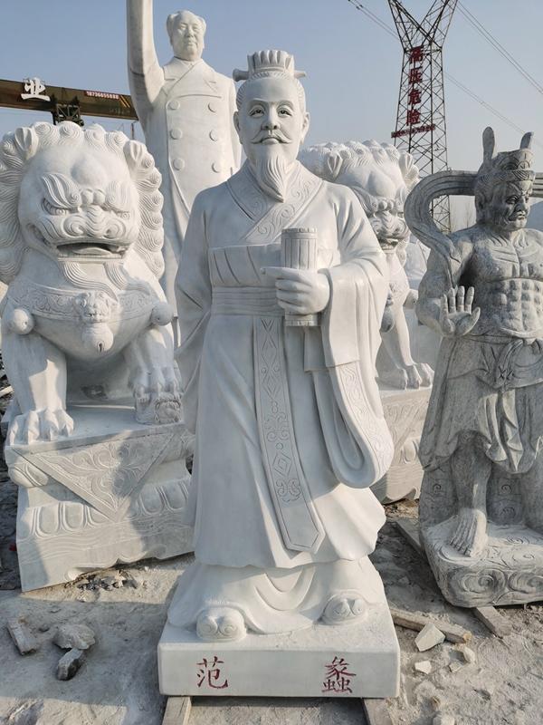 石雕人物定制