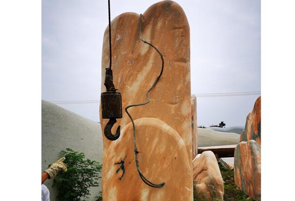贵州花岗岩门牌石
